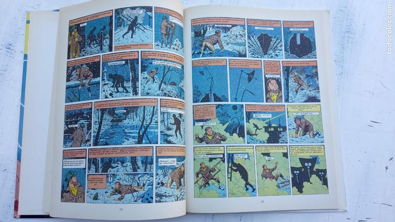 Cómics: LAS AVENTURAS DE BLAKE Y MORTIMER Nº 5 - 1986EDICIONES JUNIOR - GRIJALBO - EDGAR P. JACOB - Foto 9 - 212223272