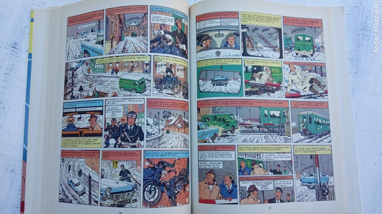 Cómics: LAS AVENTURAS DE BLAKE Y MORTIMER Nº 5 - 1986EDICIONES JUNIOR - GRIJALBO - EDGAR P. JACOB - Foto 10 - 212223272