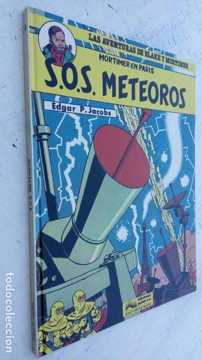 LAS AVENTURAS DE BLAKE Y MORTIMER Nº 5 - 1986EDICIONES JUNIOR - GRIJALBO - EDGAR P. JACOB (Tebeos y Comics - Grijalbo - Blake y Mortimer)