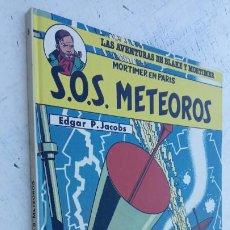 Cómics: LAS AVENTURAS DE BLAKE Y MORTIMER Nº 5 - 1986EDICIONES JUNIOR - GRIJALBO - EDGAR P. JACOB. Lote 212223272