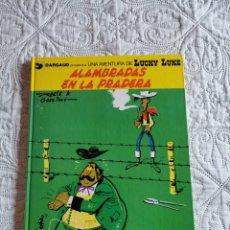Comics : UNA AVENTURA DE LUCKY LUKE - ALAMBRADAS EN LA PRADERA N. 31. Lote 212256183