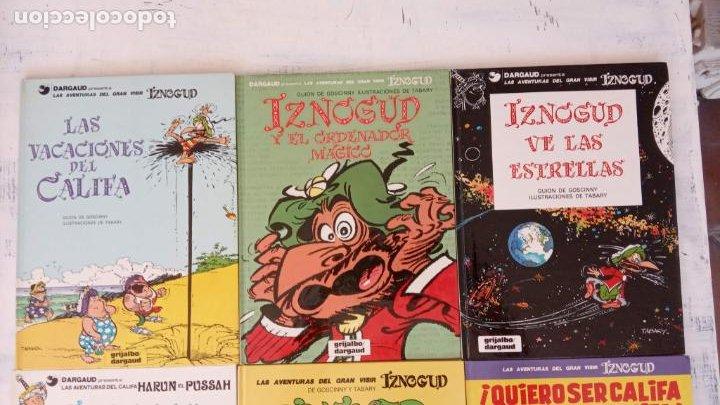 Cómics: LAS AVENTURAS DEL GRAN VISIR IZNOGUD - CALIFA HARUN EL PUSSAH - 1,4,5,7,9,11,12,14,15 - DARGAUD - Foto 9 - 212260527