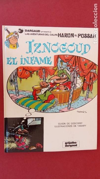 Cómics: LAS AVENTURAS DEL GRAN VISIR IZNOGUD - CALIFA HARUN EL PUSSAH - 1,4,5,7,9,11,12,14,15 - DARGAUD - Foto 17 - 212260527