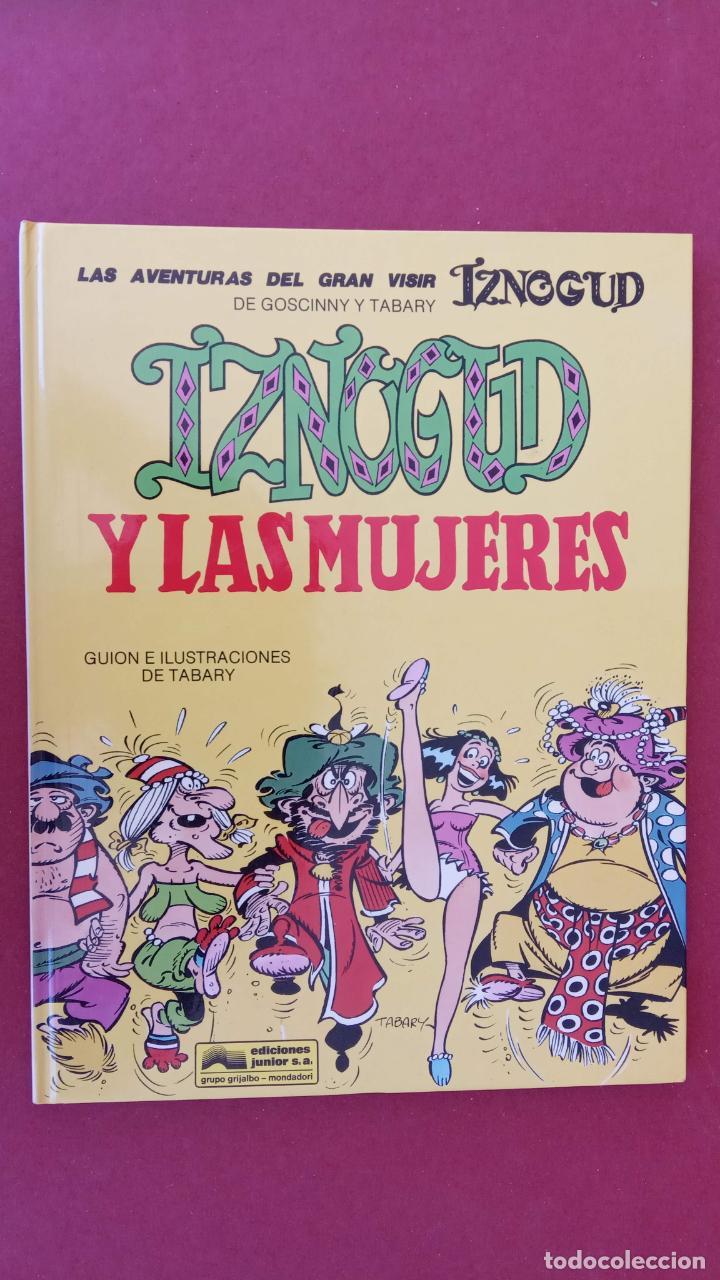 Cómics: LAS AVENTURAS DEL GRAN VISIR IZNOGUD - CALIFA HARUN EL PUSSAH - 1,4,5,7,9,11,12,14,15 - DARGAUD - Foto 18 - 212260527