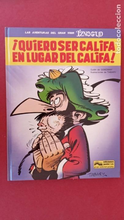 Cómics: LAS AVENTURAS DEL GRAN VISIR IZNOGUD - CALIFA HARUN EL PUSSAH - 1,4,5,7,9,11,12,14,15 - DARGAUD - Foto 19 - 212260527