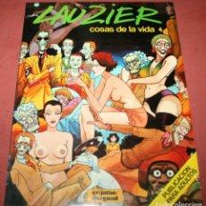 Cómics: COSAS DE LA VIDA 4 - LAUZIER - GRIJALBO / DARGAUD - 1987. Lote 212261006