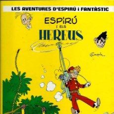 Cómics: FRANQUIN - SPIROU Nº 2 - ESPIRU I ELS HEREUS - EDICIONES JUNIOR 1987, 1ª EDICIÓ - TAPA DURA - CATALA. Lote 212330106
