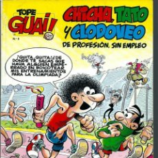 Cómics: TOPE GUAI Nº 9 - CHICHA, TATO Y CLODOVEO, DE IBAÑEZ - A POR LA OLIMPIADA 92 - JUNIOR 1987. Lote 212333196