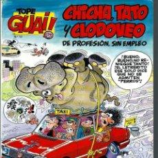 Cómics: TOPE GUAI Nº 12 - CHICHA, TATO Y CLODOVEO, DE IBAÑEZ - EL ARCA DE NOE II - JUNIOR 1987. Lote 212333326