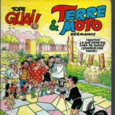 Cómics: TOPE GUAI Nº 10 - TERRE & MOTO HERMANOS, DE ESCOBAR - HOGAR DULCE HOGAR - JUNIOR 1987. Lote 212333697