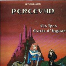 Cómics: PERCEVAN Nº 1 - ELS TRES ESTELS D' INGAAR - EDICIONS JUNIOR 1984 - TAPA TOVA. Lote 212338578
