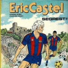 Comics : ERIC CASTEL Nº 11 - SEGREST !! - EDICIONS JUNIOR 1987, 1ª EDICIÓ - BEN CONSERVAT. Lote 212384636