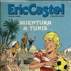 Cómics: ERIC CASTEL Nº 13 - AVENTURA A TUNIS - EDICIONS JUNIOR 1989, 1ª EDICIÓ - UNA MICA MASSEGAT. Lote 212384951