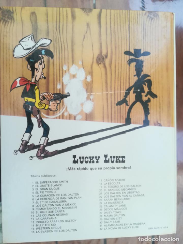 Cómics: LUCKY LUKE. LOS DALTON VAN A MEXICO. GRIJALBO. TAPA DURA - Foto 2 - 212395260