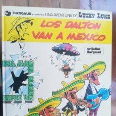 Cómics: LUCKY LUKE. LOS DALTON VAN A MEXICO. GRIJALBO. TAPA DURA. Lote 212395260