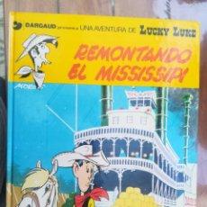 Cómics: LUCKY LUKE. REMONTANDO EL MISSISSIPI. GRIJALBO. TAPA DURA. Lote 212395420