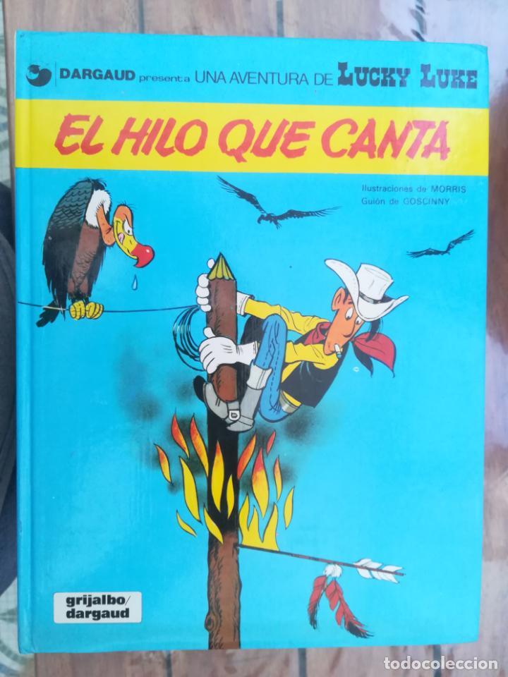 LUCKY LUKE. EL HILO QUE CANTA. GRIJALBO. TAPA DURA (Tebeos y Comics - Grijalbo - Lucky Luke)