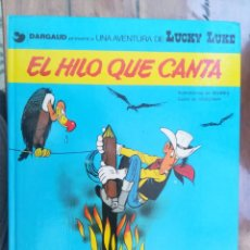 Cómics: LUCKY LUKE. EL HILO QUE CANTA. GRIJALBO. TAPA DURA. Lote 212395536