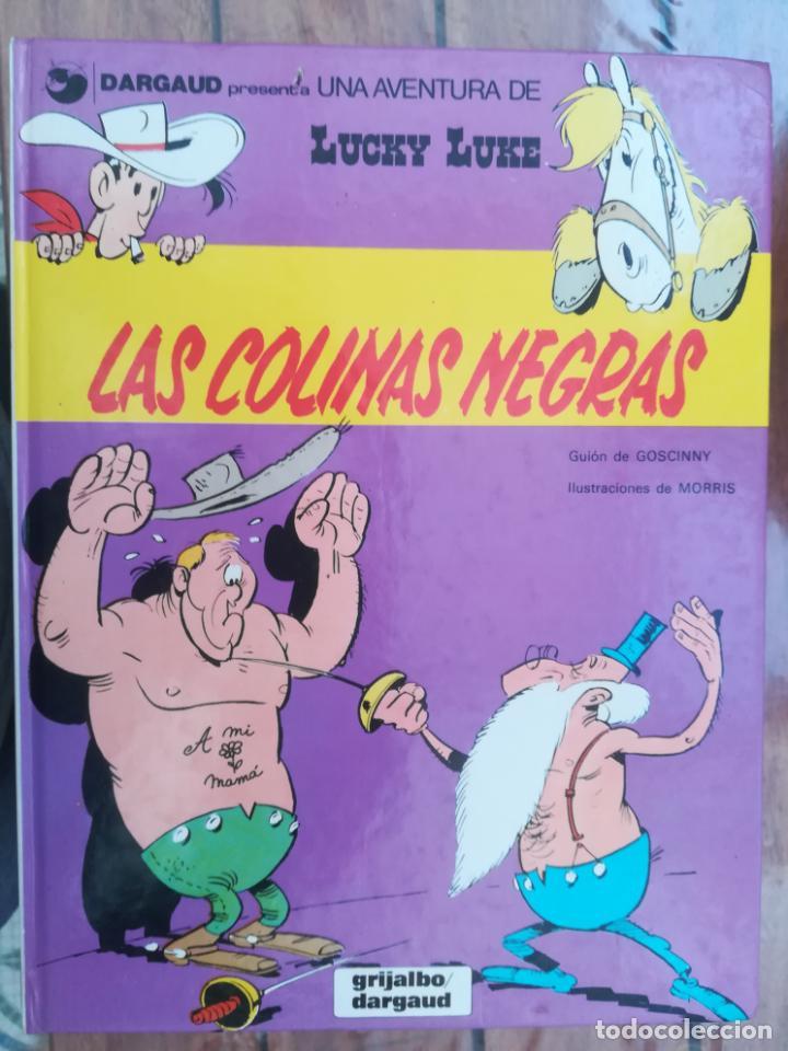 LUCKY LUKE. LAS COLINAS NEGRAS. GRIJALBO. TAPA DURA (Tebeos y Comics - Grijalbo - Lucky Luke)