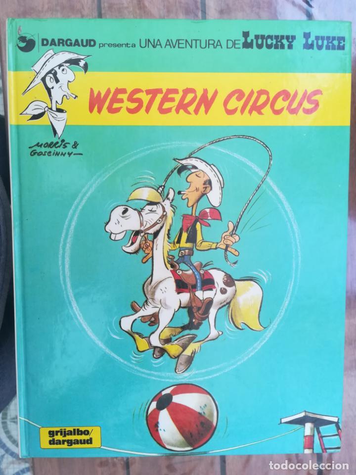 LUCKY LUKE. WESTERN CIRCUS. GRIJALBO. TAPA DURA (Tebeos y Comics - Grijalbo - Lucky Luke)