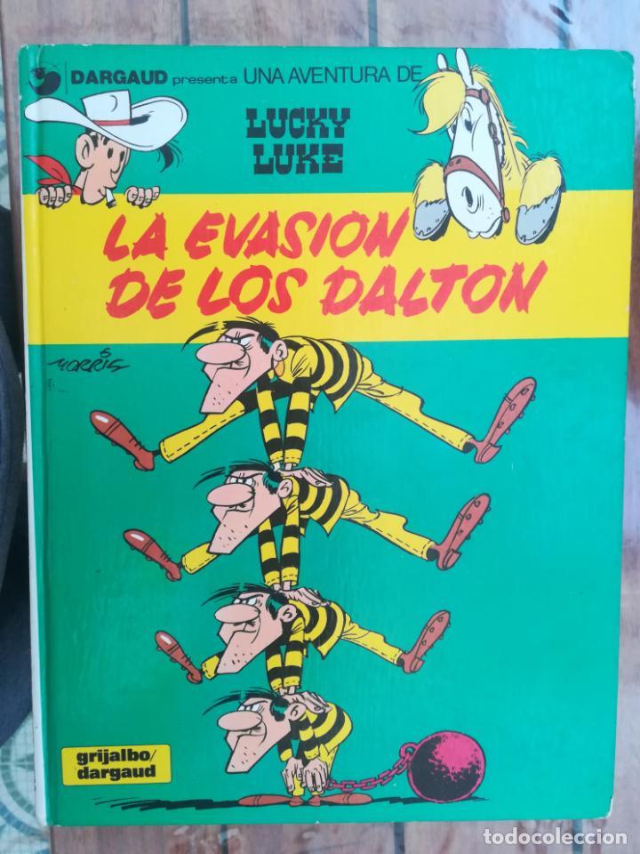 LUCKY LUKE. LA EVASIÓN DE LOS DALTON. GRIJALBO. TAPA DURA (Tebeos y Comics - Grijalbo - Lucky Luke)