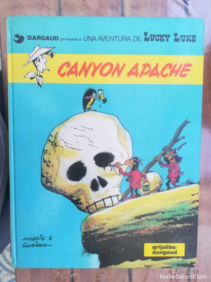 LUCKY LUKE. CANYON APACHE. GRIJALBO. TAPA DURA (Tebeos y Comics - Grijalbo - Lucky Luke)