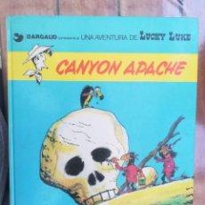 Cómics: LUCKY LUKE. CANYON APACHE. GRIJALBO. TAPA DURA. Lote 212395892