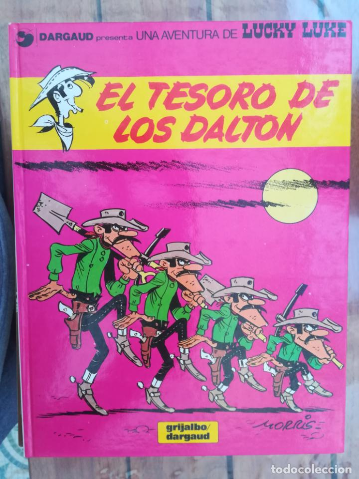 LUCKY LUKE. EL TESORO DE LOS DALTON. GRIJALBO. TAPA DURA (Tebeos y Comics - Grijalbo - Lucky Luke)