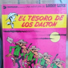 Cómics: LUCKY LUKE. EL TESORO DE LOS DALTON. GRIJALBO. TAPA DURA. Lote 212395985