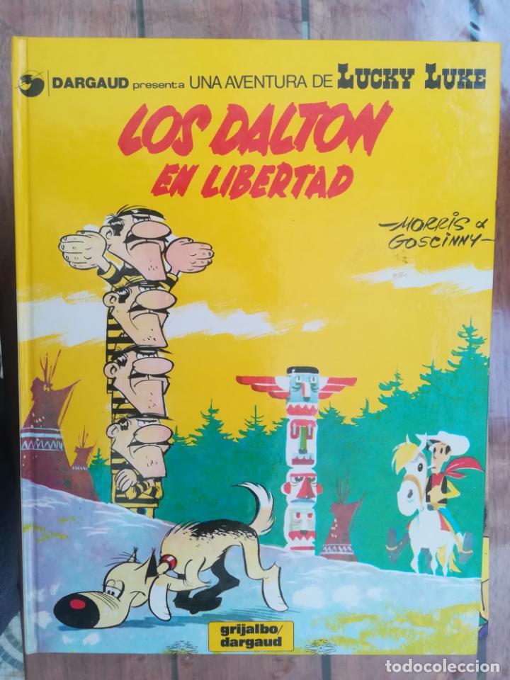 LUCKY LUKE. LOS DALTON EN LIBERTAD. TAPA DURA (Tebeos y Comics - Grijalbo - Lucky Luke)