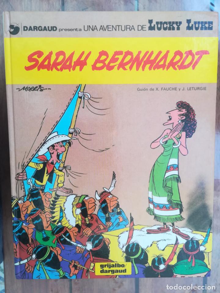 LUCKY LUKE. SARAH BERNHARDT. TAPA DURA (Tebeos y Comics - Grijalbo - Lucky Luke)