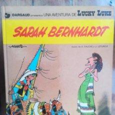 Cómics: LUCKY LUKE. SARAH BERNHARDT. TAPA DURA. Lote 212397046