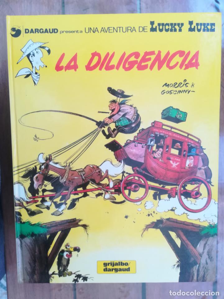 LUCKY LUKE. LA DILIGENCIA. TAPA DURA (Tebeos y Comics - Grijalbo - Lucky Luke)