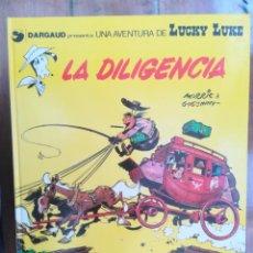 Cómics: LUCKY LUKE. LA DILIGENCIA. TAPA DURA. Lote 212397112