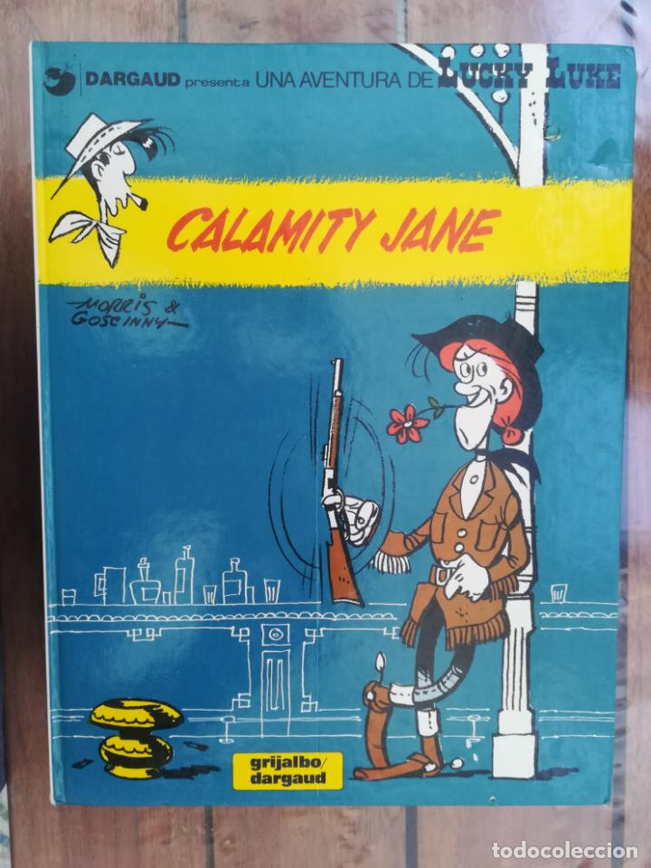 LUCKY LUKE. CALAMITY JANE. TAPA DURA (Tebeos y Comics - Grijalbo - Lucky Luke)