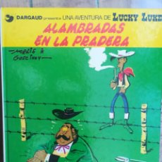 Cómics: LUCKY LUKE. ALAMBRADAS EN LA PRADERA. GRIJLABO. TAPA DURA. Lote 212398103