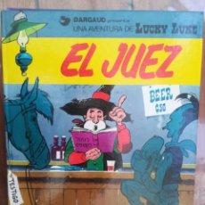 Cómics: LUCKY LUKE. EL JUEZ. GRIJLABO. TAPA DURA. Lote 212398618