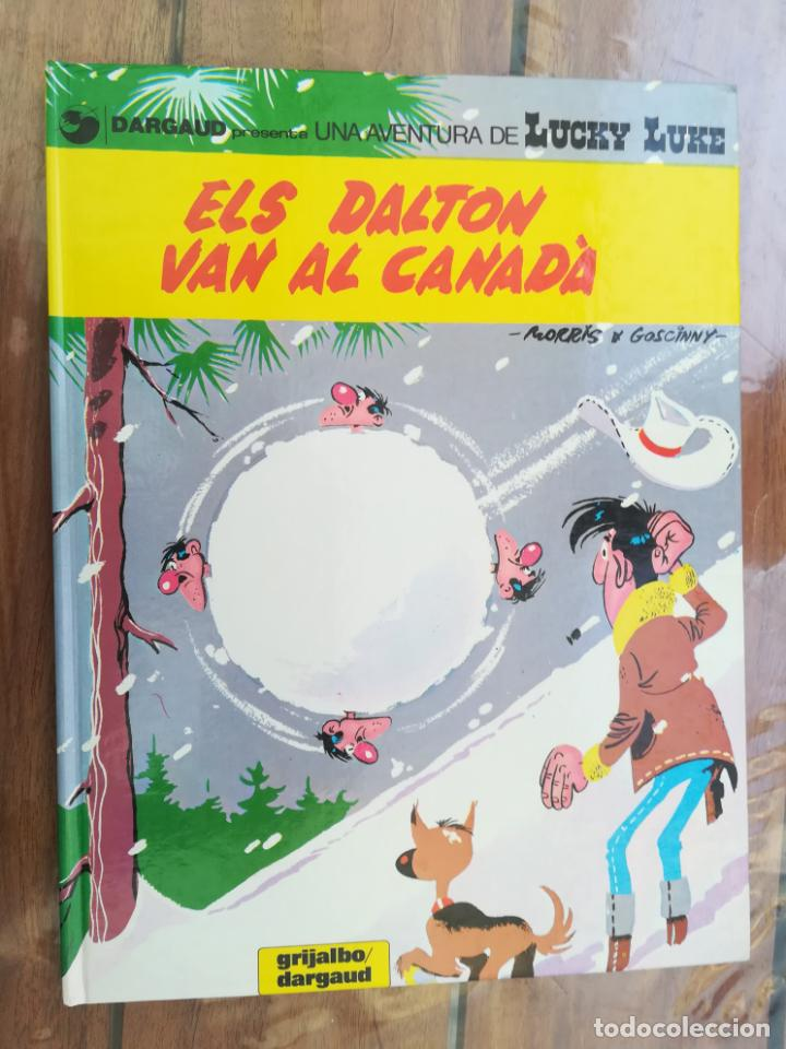 LUCKY LUKE. ELS DALTON VAN AL CANADÁ. GRIJALBO. EN CATALÁN (Tebeos y Comics - Grijalbo - Lucky Luke)