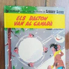Cómics: LUCKY LUKE. ELS DALTON VAN AL CANADÁ. GRIJALBO. EN CATALÁN. Lote 212429505
