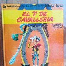 Cómics: LUCKY LUKE. EL 7º DE CAVALLERÍA. GRIJALBO. EN CATALÁN. Lote 212429581