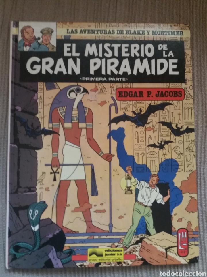 COMIC EL MISTERIO DE LA GRAN PIRAMIDE (1ª PARTE) (Tebeos y Comics - Grijalbo - Blake y Mortimer)