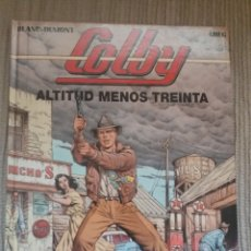 Cómics: COMIC COLBY ALTITUD MENOS TREINTA Nº1. Lote 49447305