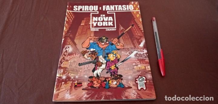 SPIROU E FANTASIO EN NOVA YORK GALEGO EDITORIAL CERDITOS DE GUINEA (Tebeos y Comics - Grijalbo - Spirou)
