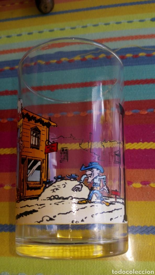 Cómics: Vaso de cristal Lucky luke dalton París Francia 1972 inedito en tc , - Foto 3 - 212885497