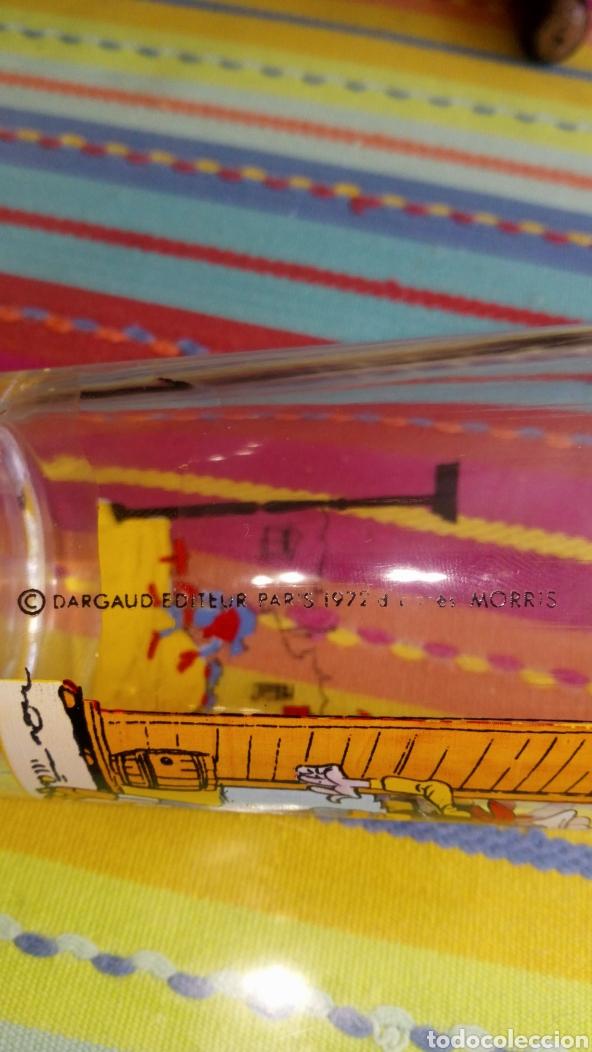 Cómics: Vaso de cristal Lucky luke dalton París Francia 1972 inedito en tc , - Foto 4 - 212885497