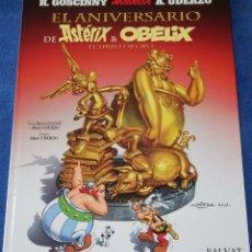 Cómics: EL ANIVERSARIO DE ASTERIX Y OBELIX - EL LIBRO DE ORO - SALVAT (2009). Lote 212911687