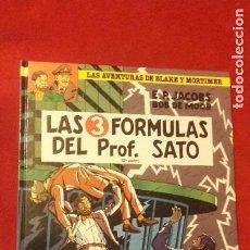 Comics : BLAKE Y MORTIMER 12 - LAS 3 FORMULAS DEL PROF. SATO 2 - JACOBS & BOB DE MOOR - CARTONE. Lote 212948781