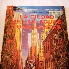 Comics : LA CIUDAD DE LAS AGUAS TURBULENTAS NO8 UNA AVENTURA DE VALERIAN AGENTE ESPACIO TEMPORAL. Lote 213056497