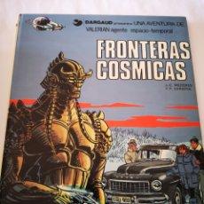 Comics : FONTERAS CÓSMICAS NO13 UNA AVENTURA DE VALERIAN AGENTE ESPACIO TEMPORAL. Lote 213057280
