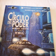 Comics : EL CÍRCULO DEL PODER NO15. UNA AVENTURA DE VALERIAN AGENTE ESPACIO TEMPORAL. Lote 213057790